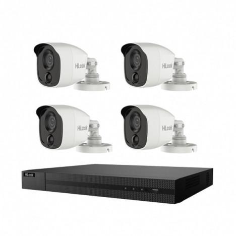 Kit 4 Caméra De Surveillance HiLook