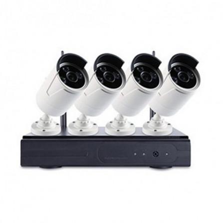 Kit 4 Caméra de surveillance 360 Vision