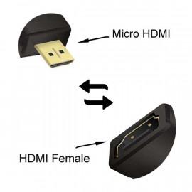 ADAPTATEUR HDMI SBOX VERS MICRO HDMI F/M