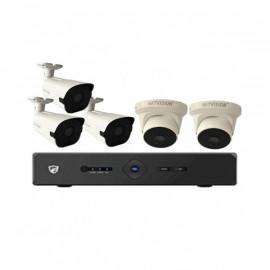 Kit 5 caméras + DVR