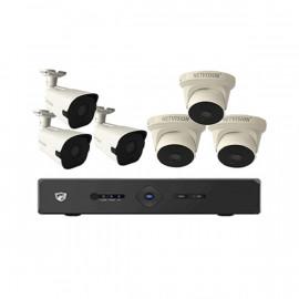 KIT 6 caméras + DVR