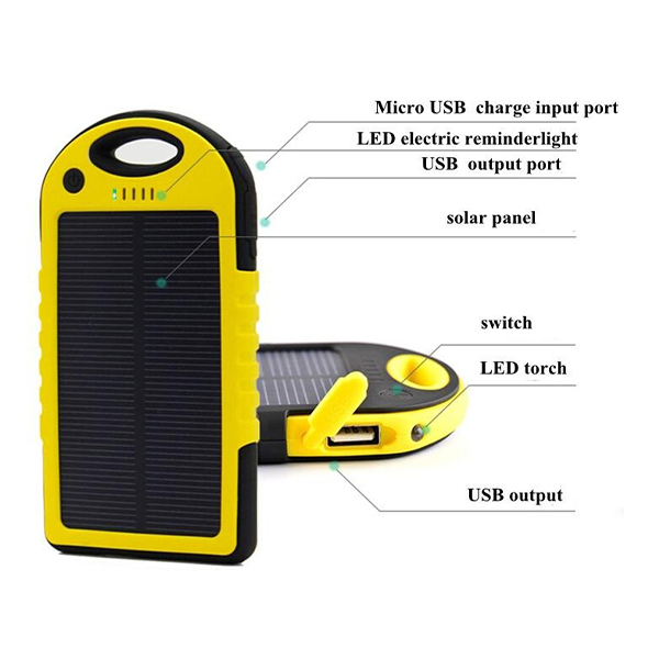 Chargeur solaire mobile Tunisie