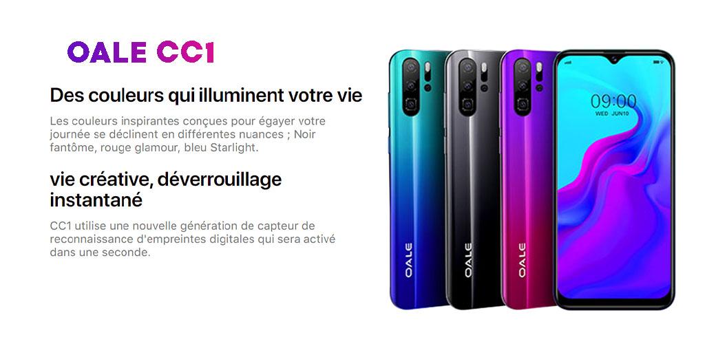 Smartphone OALE CC1 Tunisie Prix