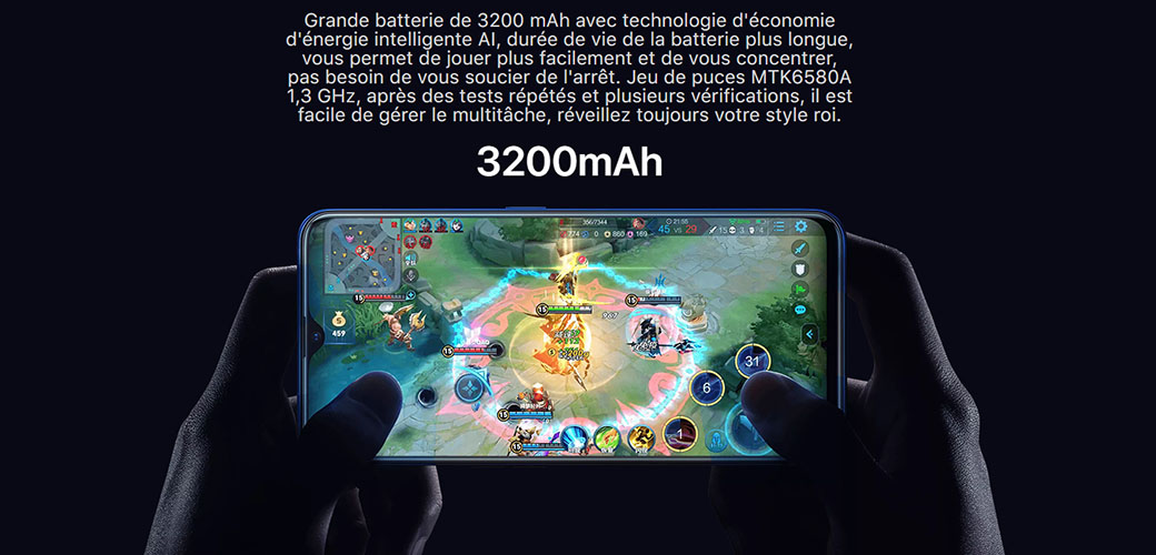 OALE CC1 Smartphone  Tunisie