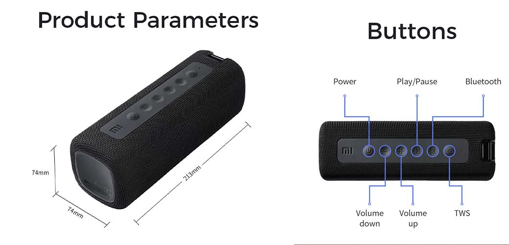speaker Xiaomi sans fil prix